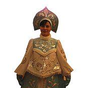 Одежда ручной работы. Ярмарка Мастеров - ручная работа голубой костюм Снегурочка артикул 50029. Handmade.