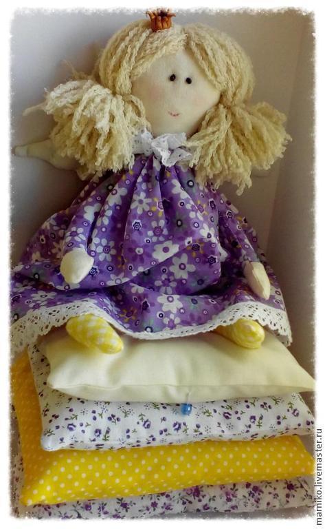 Куклы Тильды ручной работы. Ярмарка Мастеров - ручная работа. Купить Принцесса на горошине. Handmade. Принцесса на горошине, синтетический наполнитель