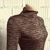 Одежда ручной работы. Ярмарка Мастеров - ручная работа V_005_3 Водолазка-меланж. Handmade.