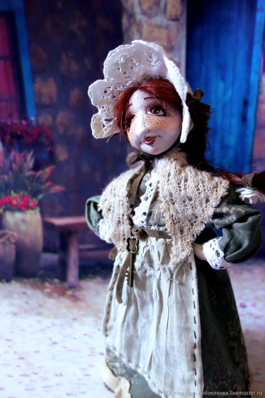 Авторская текстильная кукла Клотильда, Будуарная кукла, Москва,  Фото №1