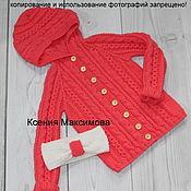 Работы для детей, handmade. Livemaster - original item jacket for girls I`m a Princess. Handmade.