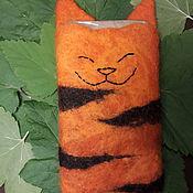 Чехол ручной работы. Ярмарка Мастеров - ручная работа Чехол для телефона Кот (котик, тигр, зверюшка). Handmade.