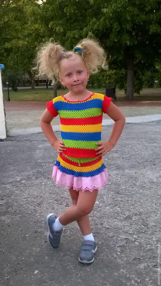 """Одежда для девочек, ручной работы. Ярмарка Мастеров - ручная работа. Купить Костюм """"Шалунишка"""". Handmade. Комбинированный, одежда для девочек"""