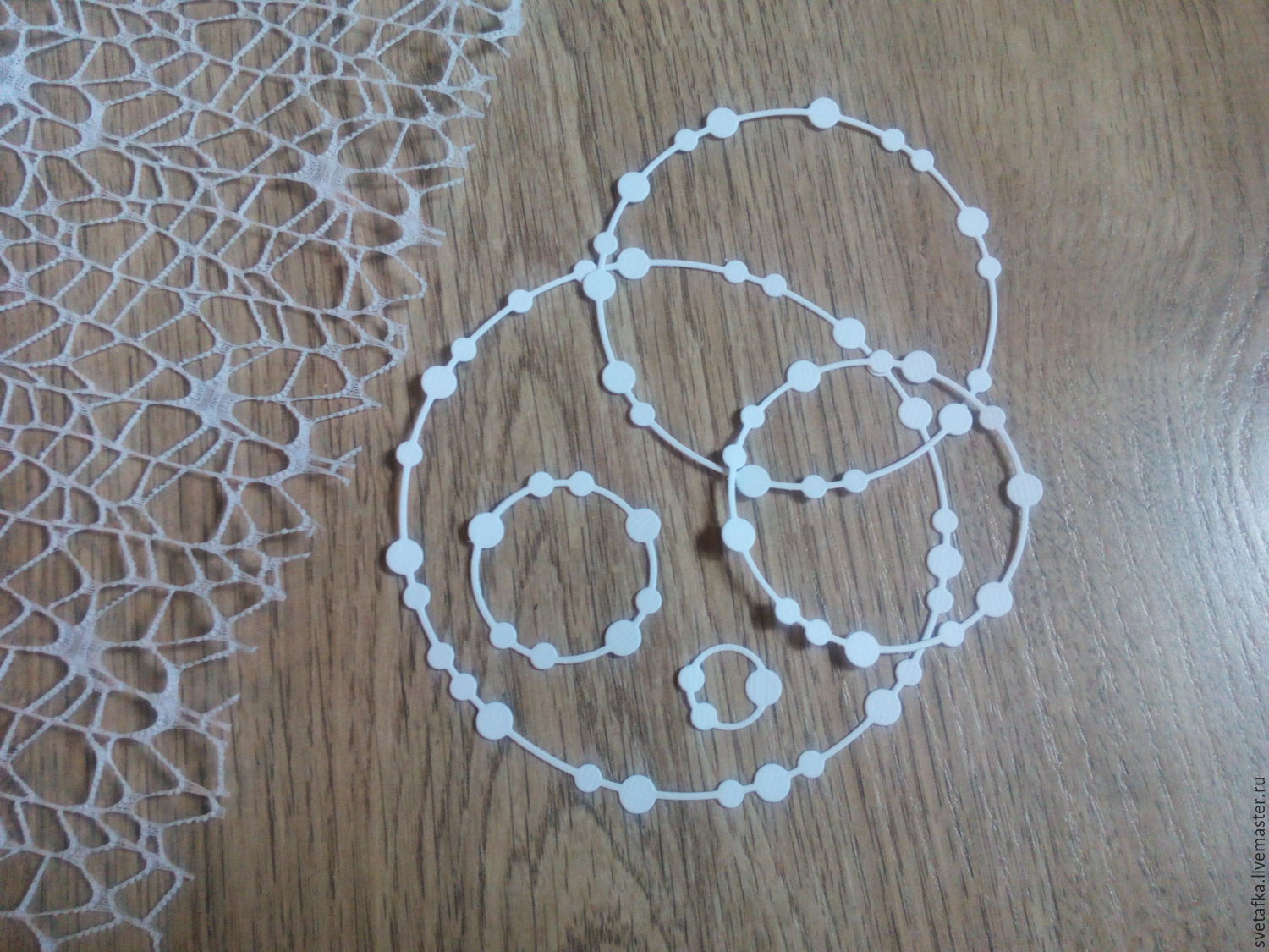 !Cutting for scrapbooking -BEAD frame-ROUND, set of frames, Scrapbooking cuttings, Mytishchi,  Фото №1