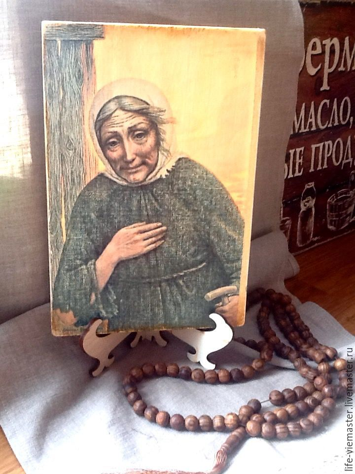 Home icon'Saint Xenia of Petersburg', Figurines in Russian style, Altaic,  Фото №1