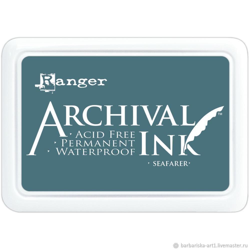 Чернильная подушечка Archival Ink Seafarer от Ranger, Инструменты для скрапбукинга, Смоленск,  Фото №1