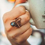 Украшения ручной работы. Ярмарка Мастеров - ручная работа Кольцо «Медуза». Handmade.