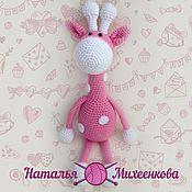Куклы и игрушки ручной работы. Ярмарка Мастеров - ручная работа Нежный жирафик. Handmade.