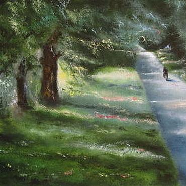Картины и панно ручной работы. Ярмарка Мастеров - ручная работа Волшебная дорога. Handmade.