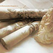Свадебный салон ручной работы. Ярмарка Мастеров - ручная работа Авторский Старинный свиток (пригласительные с ангелами). Handmade.