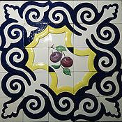 Картины и панно handmade. Livemaster - original item Facade ceramic panel