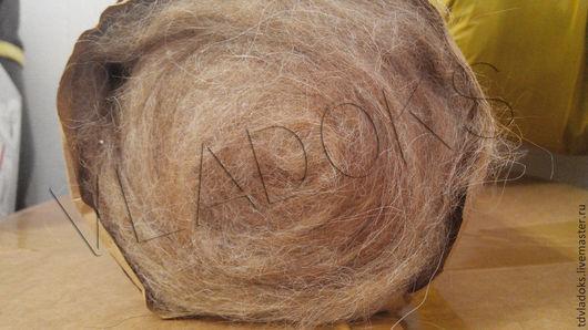 Валяние ручной работы. Ярмарка Мастеров - ручная работа. Купить Продается шерсть АЛЬПАКИ 100% кардочесанная Артикул КА1114. Handmade.