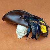 Аксессуары handmade. Livemaster - original item Edward Teague`s Hat. Handmade.
