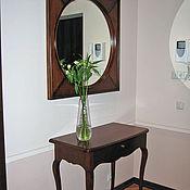 Для дома и интерьера ручной работы. Ярмарка Мастеров - ручная работа Консольный столик с зеркалом из дерева. Handmade.