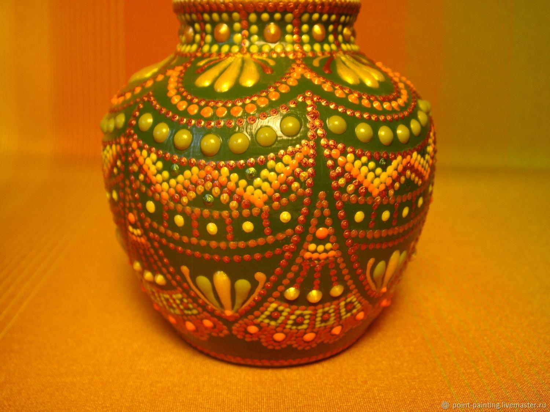 """Декоративная ваза """"Весенняя элегия"""""""