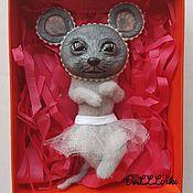 Куклы и игрушки ручной работы. Ярмарка Мастеров - ручная работа Мышь Матильда. Handmade.