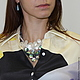 Bib-necklaces 'LA PERLE' of natural pearls and mother of pearl, Necklace, Moscow,  Фото №1