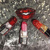 Украшения ручной работы. Ярмарка Мастеров - ручная работа Брошки - помадки. Handmade.