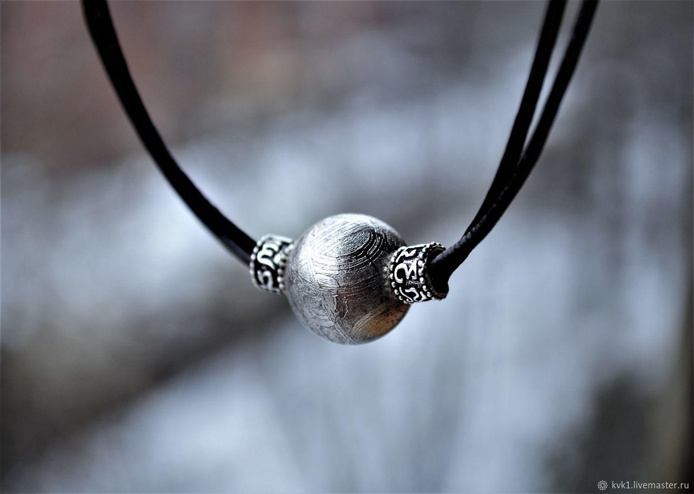 Pendant of iron 'meteorite Muonionalusta», Pendants, Moscow,  Фото №1