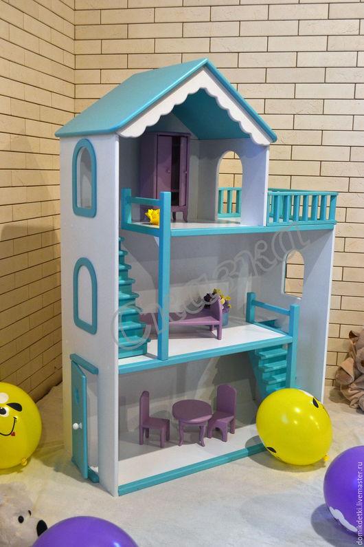 Кукольный дом ручной работы. Ярмарка Мастеров - ручная работа. Купить Кукольный домик. Handmade. Кукольный дом, что подарить