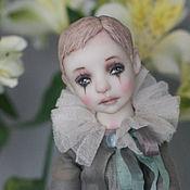Куклы и игрушки ручной работы. Ярмарка Мастеров - ручная работа Подвижная кукла Пьеро. Handmade.