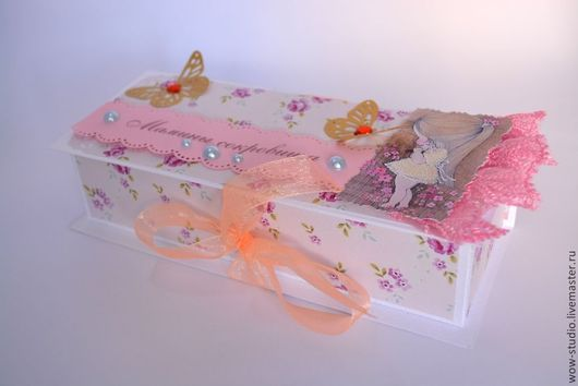 """Подарки для новорожденных, ручной работы. Ярмарка Мастеров - ручная работа. Купить """"Мамины сокровища"""" для дочки или сыночка. Handmade. Разноцветный"""