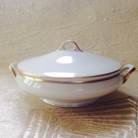 Винтажная посуда. Ярмарка Мастеров - ручная работа. Купить супница. Handmade. Белый