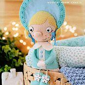 Елочные игрушки ручной работы. Ярмарка Мастеров - ручная работа Снегурочка из фетра. Handmade.