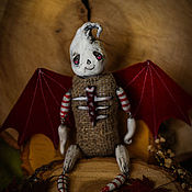 Куклы и игрушки ручной работы. Ярмарка Мастеров - ручная работа Дух Хэллоуина по имени Патрик. Handmade.