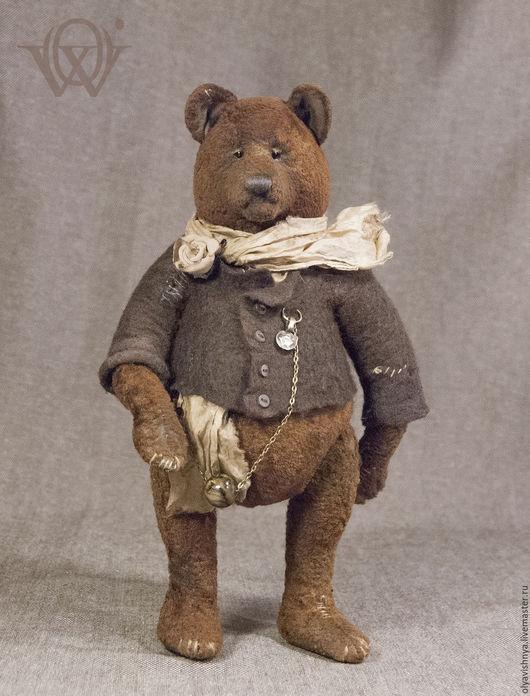 Мишки Тедди ручной работы. Ярмарка Мастеров - ручная работа. Купить Бруно Деклан (Bruno Declan) мишка тедди. Handmade.