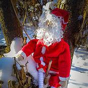 Куклы и игрушки ручной работы. Ярмарка Мастеров - ручная работа Большой Санта. Handmade.