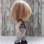 Куклы и пупсы ручной работы. Ярмарка Мастеров - ручная работа Текстильная кукла мальчик подвижная. Handmade.