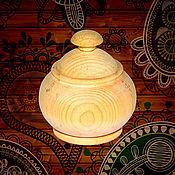 Материалы для творчества handmade. Livemaster - original item A Cup a blank for Decoupage A box for Painting Siberian Cedar DK1. Handmade.