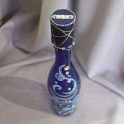 Подарки к праздникам ручной работы. Ярмарка Мастеров - ручная работа Новогодняя бутылка. Handmade.