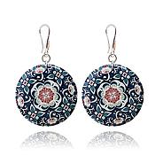 Украшения handmade. Livemaster - original item Earrings blue and white gifts for your favorite