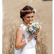 Свадебные букеты ручной работы. Ярмарка Мастеров - ручная работа Букет невесты из полимерной глины  Очарование. Handmade.