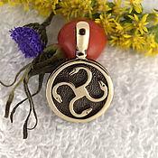 Русский стиль handmade. Livemaster - original item Coil,Slavic amulets talismans amulets. Handmade.