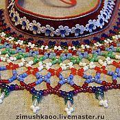 Русский стиль handmade. Livemaster - original item Ozherelki. Handmade.