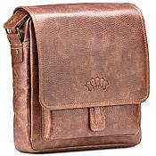 Сумки и аксессуары handmade. Livemaster - original item Leather crossbody bag