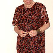 """Одежда ручной работы. Ярмарка Мастеров - ручная работа Платье шерстяное кружево """"макраме"""". Handmade."""