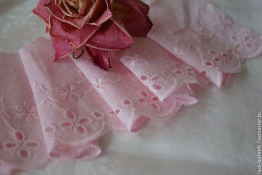 Шитье ручной работы. Ярмарка Мастеров - ручная работа. Купить Шитье кружевное розовое 7 см. Handmade. Шитье