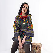"Одежда handmade. Livemaster - original item Tunic ""The Glow of the Day"". Handmade."
