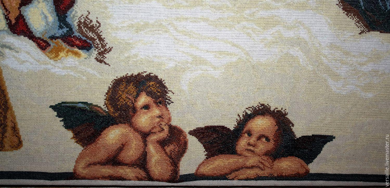 Вышивка с репродукции картины 426