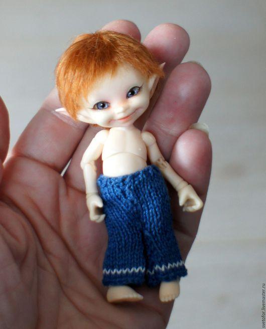 Одежда для кукол ручной работы. Ярмарка Мастеров - ручная работа. Купить Паричок для RealPuki мальчика. Handmade. Коричневый, волосы для кукол