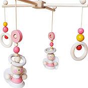 Мягкие игрушки ручной работы. Ярмарка Мастеров - ручная работа Мобиль для детской кроватки. Handmade.