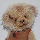 Мишки Тедди ручной работы. Малыш Джони. Irene Gromi (Teddy Art Boutique). Ярмарка Мастеров. Теддик, интерьерная игрушка