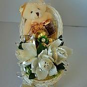 """Подарки к праздникам ручной работы. Ярмарка Мастеров - ручная работа """"Люлька с мишкой"""". Handmade."""