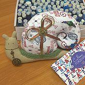 Куклы и игрушки ручной работы. Ярмарка Мастеров - ручная работа Интерьерная игрушка Улитка. Handmade.