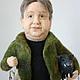 Портретные куклы ручной работы. Портретная кукла Рыболов-охотник. Диана Грант (zumzum-latvija). Интернет-магазин Ярмарка Мастеров.