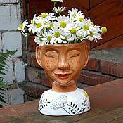 "Для дома и интерьера handmade. Livemaster - original item Vase: ""Bab`ye leto"". Handmade."